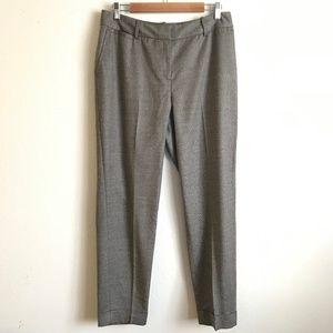 Lafayette 148 New York Brown Cuffed Dress Pants